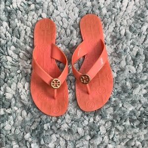 Tory Burch jelly flip flops